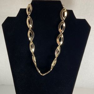 Monet gold-tone chunky oval necklace